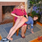 Chrissy Marie gets punished at Spanked Sweeties - 06 - bare bottom